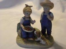 denim days home interior denim days figurines ebay