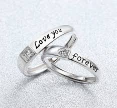 rings love couple images Love you forever couple finger ring online jpeg