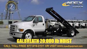 Ford 650 Price 2004 Ford F 650 Single Axle Roll Off Truck Youtube