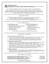 functional resume exles relations mid experience resume sles vault