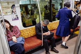 napping in public in japan that u0027s a sign of diligence the new
