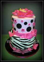 pink and black baby shower cakes archives baby shower diy