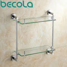 free shipping bathroom accessories products bathroom shelf solid