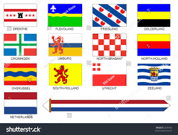 Flag Of Netherlands Flags All Provinces Netherlands Stock Vector 3248466 Shutterstock