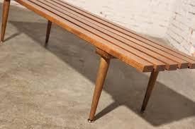 mid century modern bench style u2014 farmhouses u0026 fireplacesfarmhouses