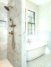 how to replace a bathtub shower nt cost next to tub gray marble bathroom with replace