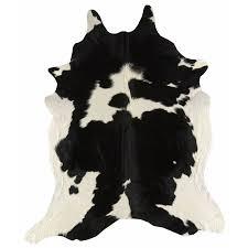 australian cowhide area rug black and white cowhide rug black