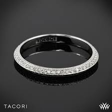 Tacori Wedding Rings by Tacori 2520et Simply Tacori Knife Edge Pave Diamond Wedding Ring