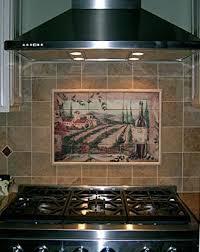 kitchen backsplash mural lovely mural tiles for kitchen backsplash szsolar net