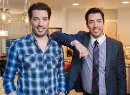 jonathan and drew scott the first time with property brothers jonathan and drew scott w dish