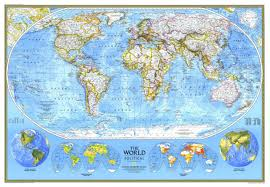 world politic map national geographic world political map 1994 maps