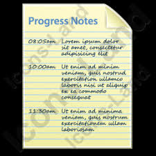 progress notes document icon png ico icons 256x256 128x128