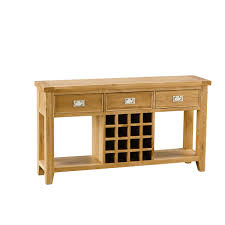 Oak Sofa Table by Orchard Oak Wine Sofa Table Hall Tables U0026 Consoles Living