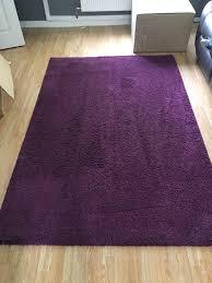 purple rug ikea adum deep pile in west heath west midlands