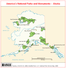 Alaska national parks images Geography trivia national parks in the united states geolounge gif
