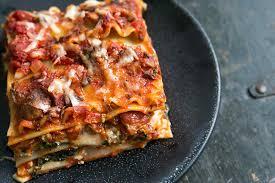 thanksgiving lasagna recipe vegetarian lasagna recipe spinach and mushroom lasagna
