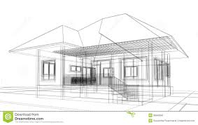 Design House Free Sketch Design Of House Royalty Free Stock Image Image 36948656