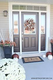 Outside Entryway Decor Best 25 Fall Entryway Ideas On Pinterest Fall Entryway Decor