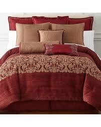 Jacquard Bed Set Deals On Royal Velvet Malaga 4 Pc Jacquard Comforter Set