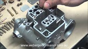 45 dcoe 13 weber assembly part 1 youtube