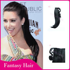 Pony Wrap Hair Extension by Find More Ponytails Information About Hair Weave Heat Resistant