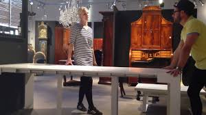 Expanding Table by Goliath Table 2 0 Expanding Console Table Italian Design Youtube