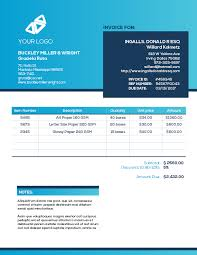 blank invoice templates for creative professionals u2013 bric