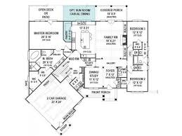 craftsman open floor plans 2 300 sq ft craftsman style ranch open floor plan mudroom and
