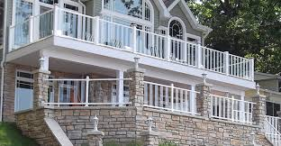 Balcony Banister Pure View Glass Railing System Strong U0026 Stylish Glass Balusters