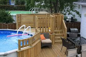 ideas for pool decks pools u0026 tiki bars pinterest small patio