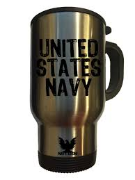 Travel Mug United States Navy 14 Oz Travel Mug