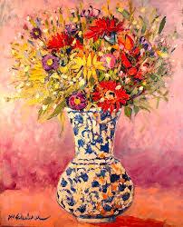 autumn flowers autumn flowers painting by ana maria edulescu