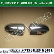 Daihatsu Sigra Trunk Lid Cover Chrome cover spion toyota calya cover mirror toyota calya mirror cover