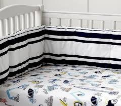 Construction Crib Bedding Set Construction Baby Bedding Set Pottery Barn