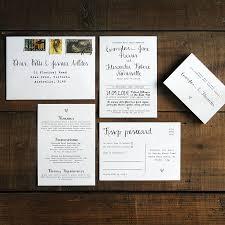 calligraphy wedding invitation stationery by feel good wedding