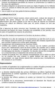 regle d hygi鈩e en cuisine hygiène alimentaire introduction pdf