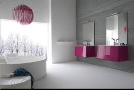 Gray And Purple Bathroom by Stylish Bathroom Lighting Zamp Co