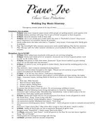 Wedding Itinerary The 25 Best Wedding Itinerary Template Ideas On Pinterest