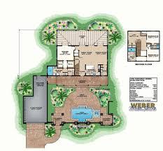 courtyard floor plans house plan with courtyard plans small inner hacienda narrow garage