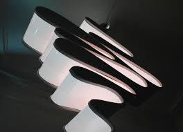 ribbon light ribbon chandelier modern livingmodern living