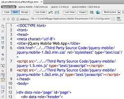 configure xp dreamweaver assorted garbage blog archive updating jquery and jquery mobile