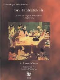 abhinavagupta chatterjee gautam tr sri tantraloka chapter