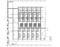 3 stars hotel lodging hotel hotel 2d dwg plan for autocad