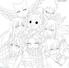 54 fairy tail coloring pages images coloring