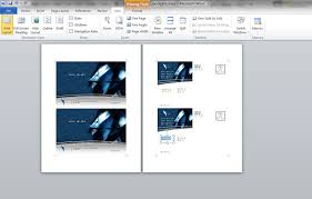 how to make a postcard in microsoft word printaholic com