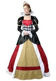 queen of hearts costumes plus size child queen of heart