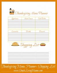 thanksgiving list of traditional thanksgivingr menu