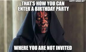 Darth Maul Meme - best star wars funny happy birthday meme happy wishes