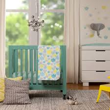 Mini Crib Baby Bedding by Soft Luxury Nursery Bedding For The Modern Baby