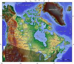 Elevation Map Of Michigan by List Of Extreme Points Of Canada Wikipedia